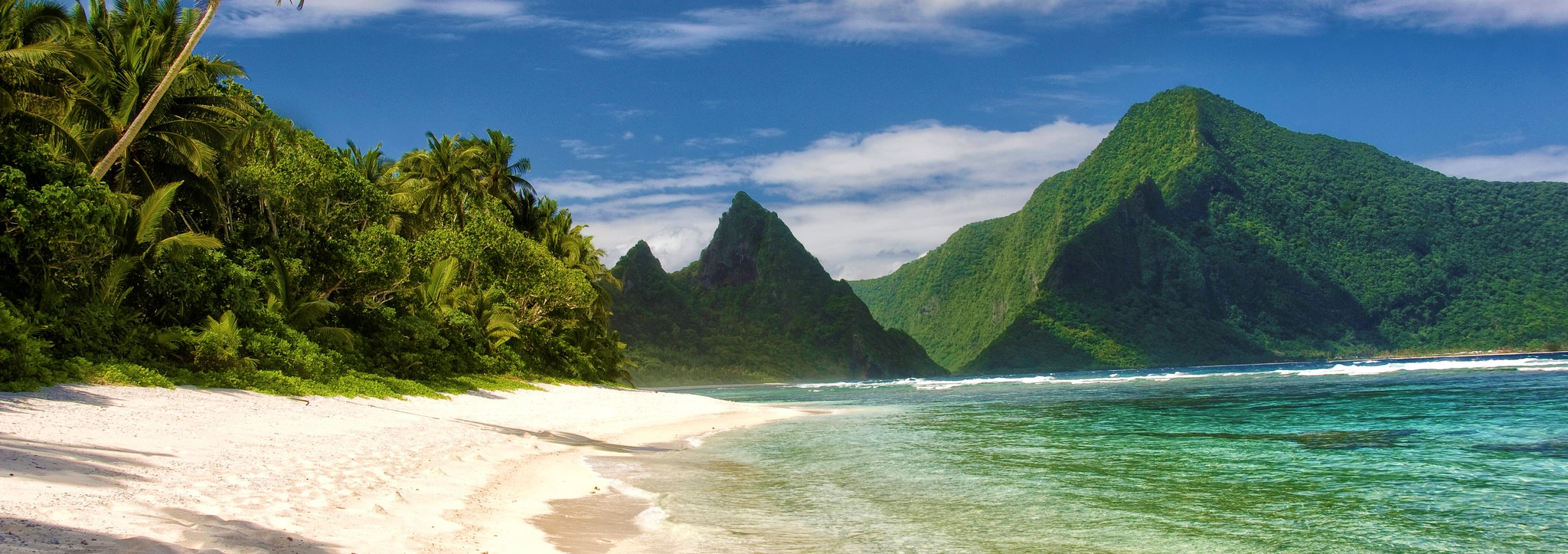 Ta' u Island, American Samoa (Photo: US Dept of the Interior)