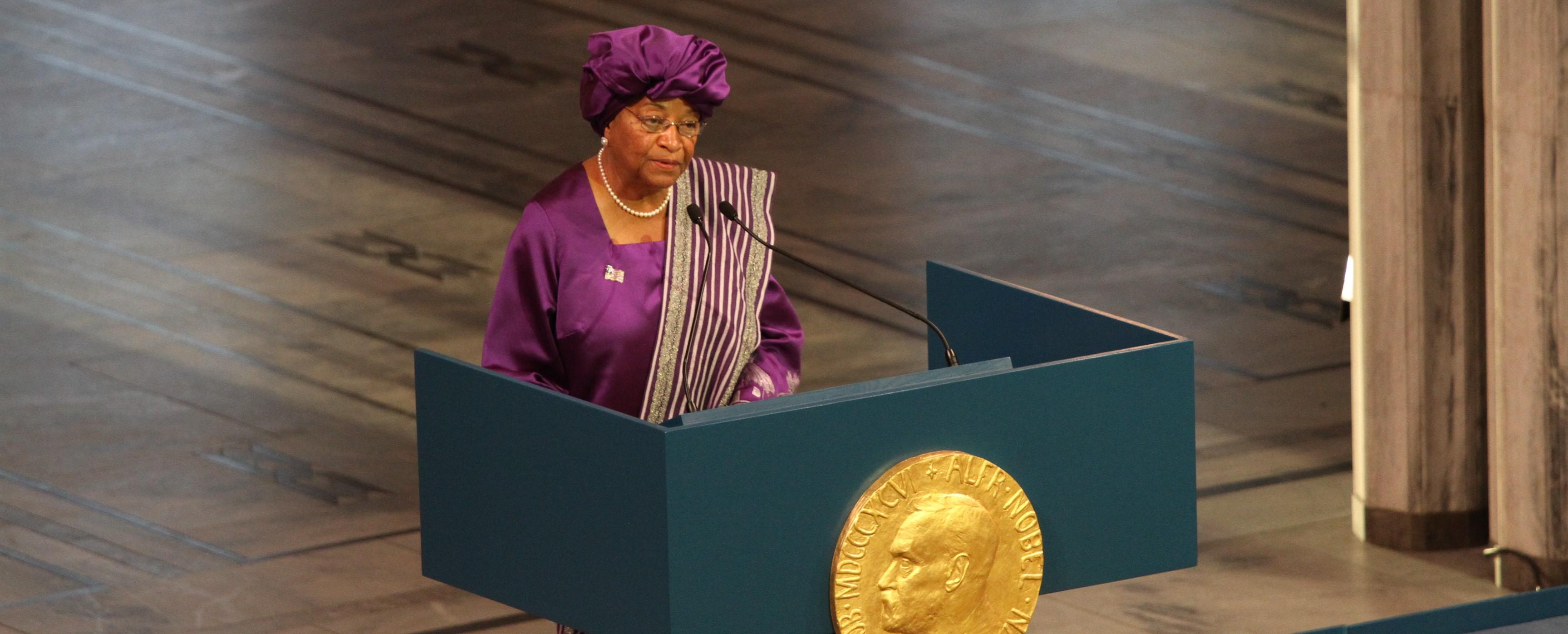 Ellen Johnson Sirleaf (Photo: Flicker/ Utenriksdepartementet UD)