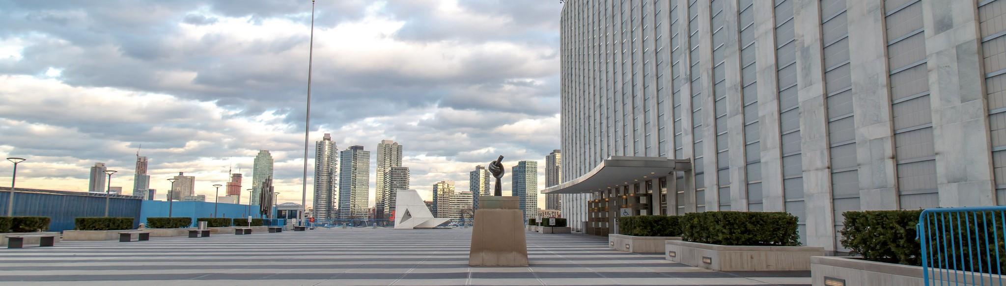 United Nations entrance, New York (Photo: Flickr/John Gillespie)
