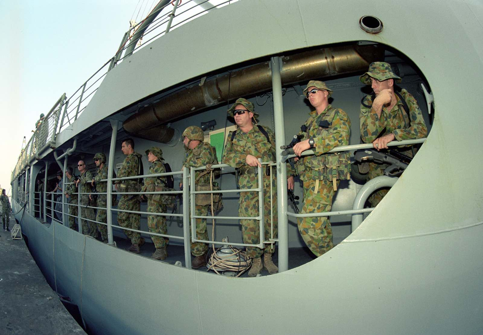 Darwin to Dili, 10 hours by sea (Photo: Department of Defence)