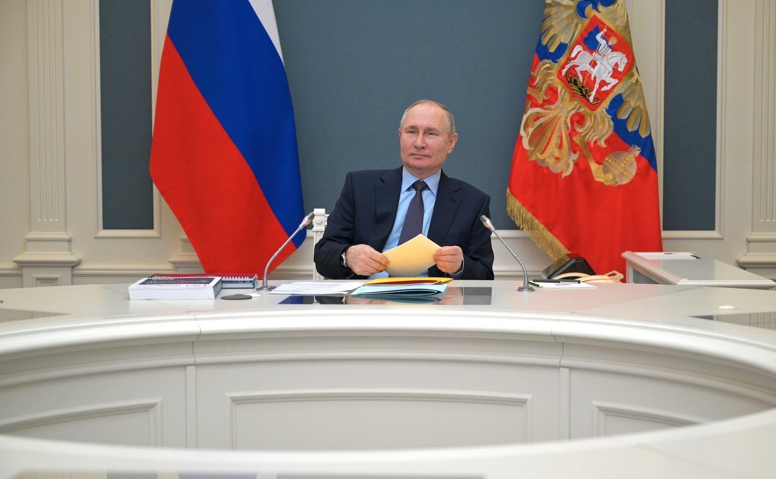 "Joe Biden pointedly agreed Vladimir Putin was a ""killer"" (Kremlin.ru)"