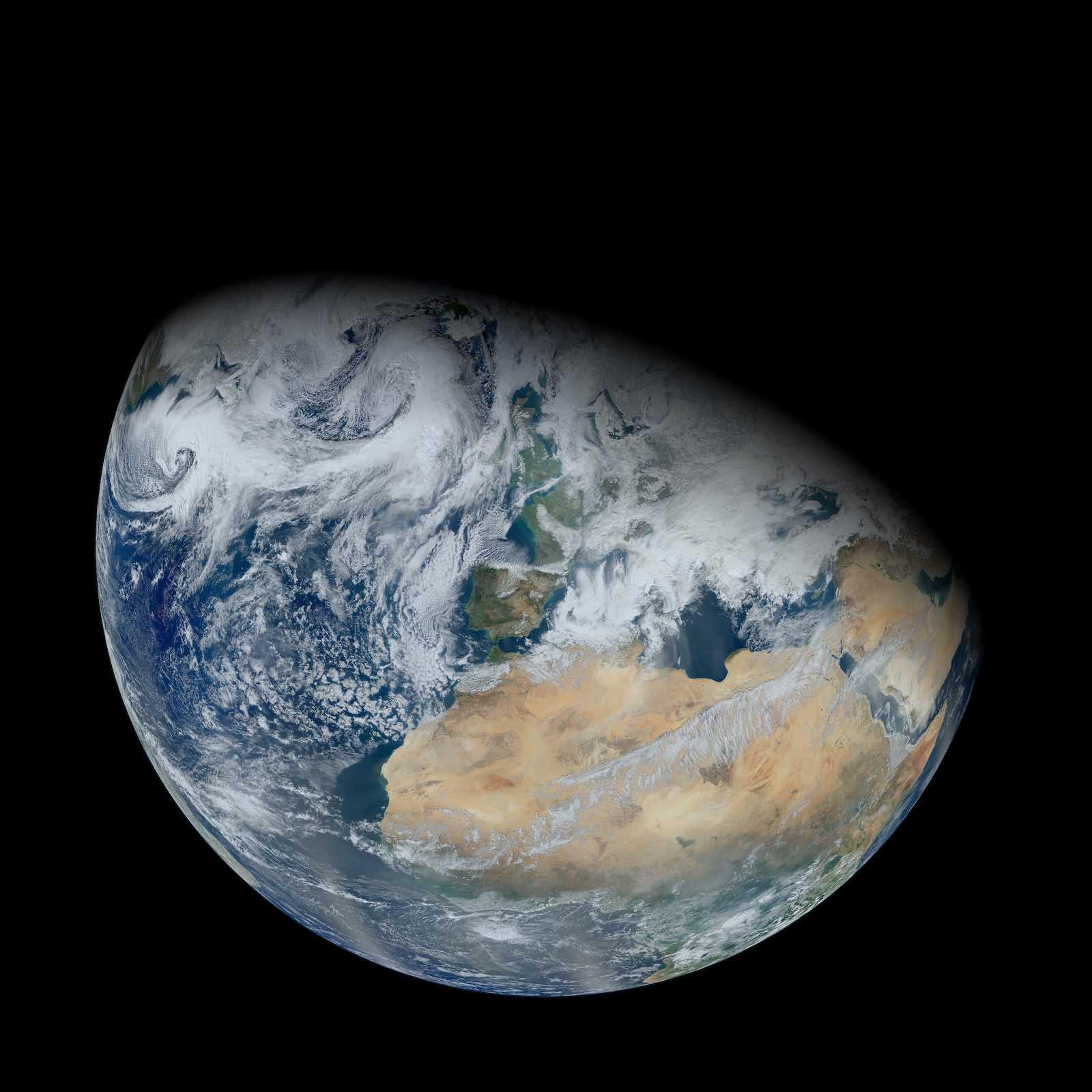 "Casting shade on ""negative globalism"" (Photo: NASA)"