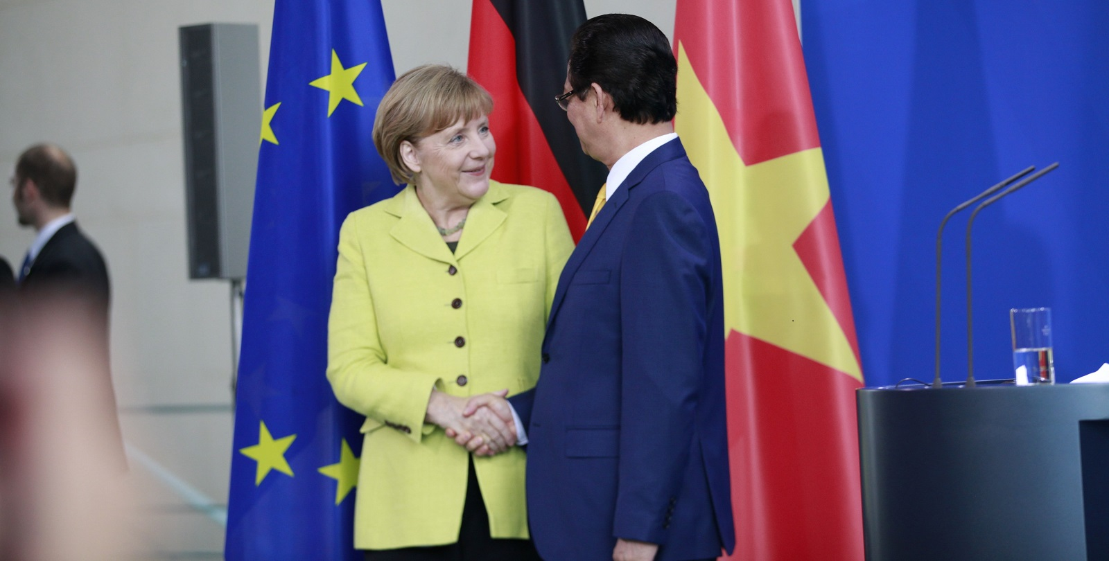 Germany has been one of Vietnam's best friends in Europe. (Photo: Simone Kuhlmey/Getty Images)