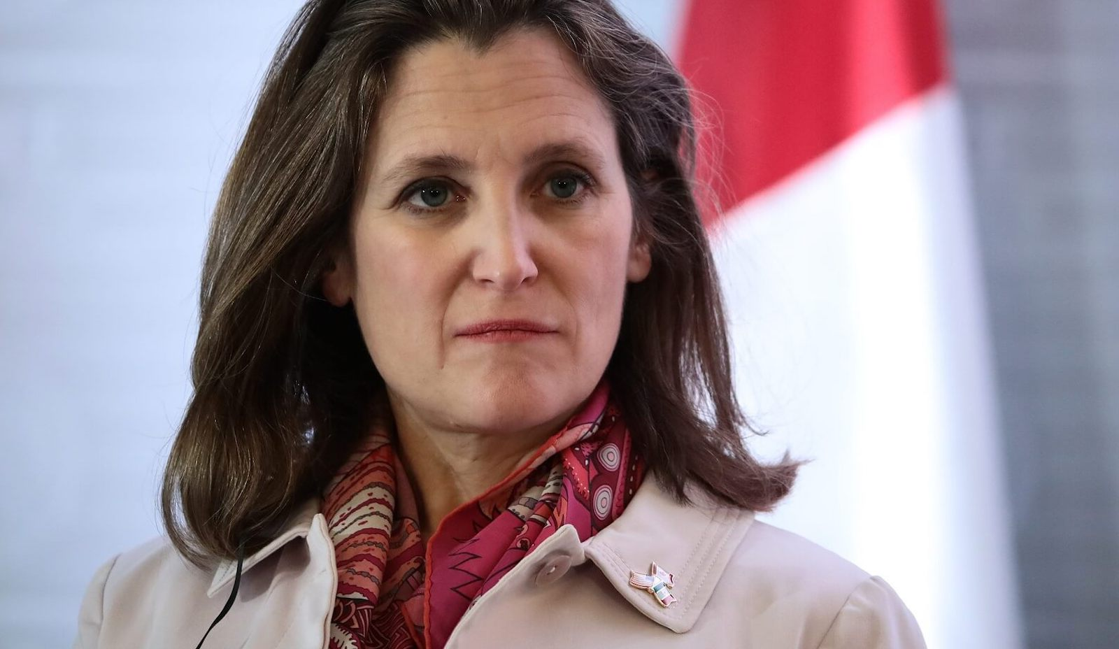 Canadian Foreign Minister Chrystia Freeland in Mexico City, 2 February 2018 (Photo: Hector Vivas/Getty)