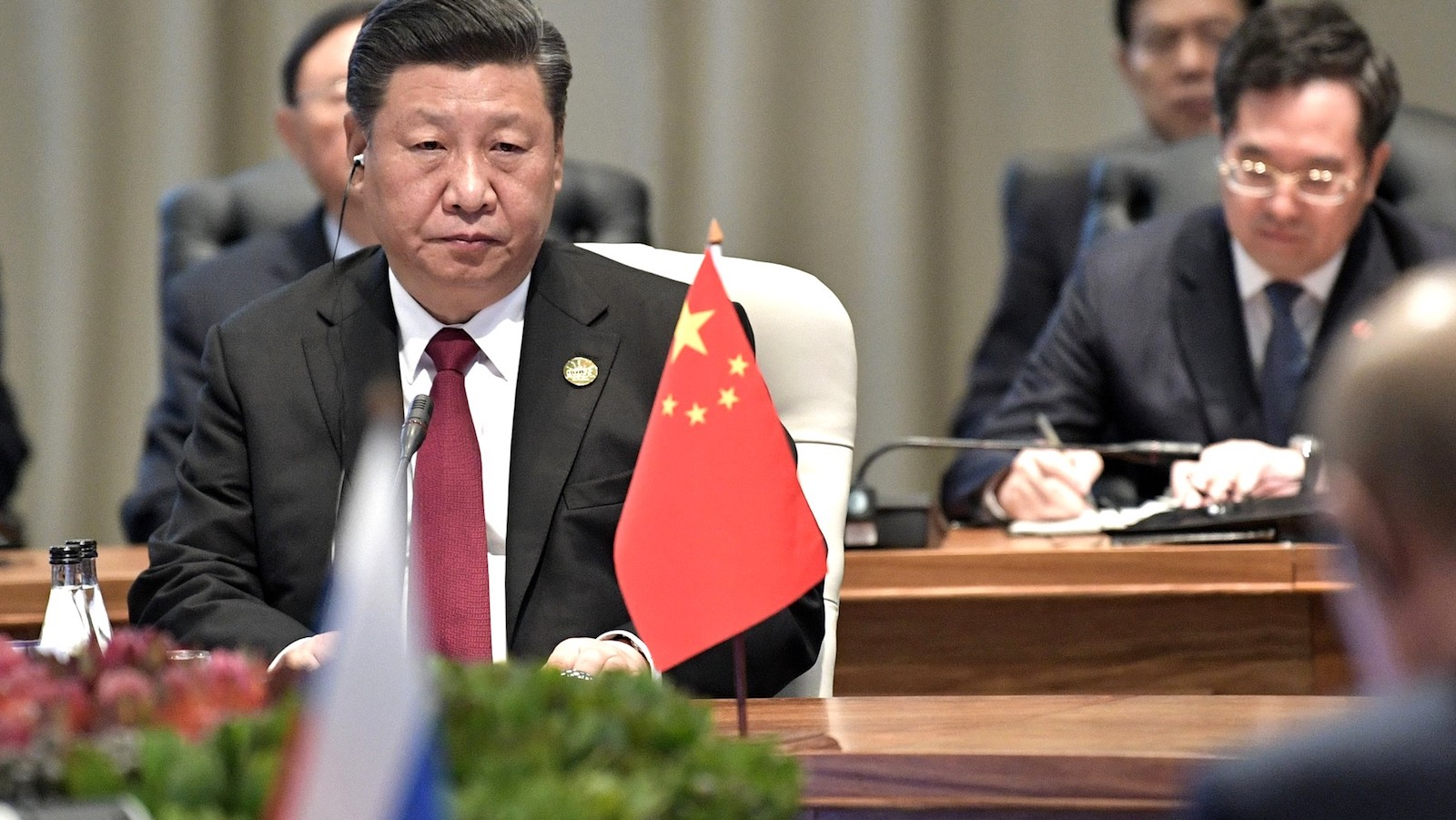 Chinese President Xi Jinping last week at the BRICS Summit in South Africa (Photo: Kremlin.ru)