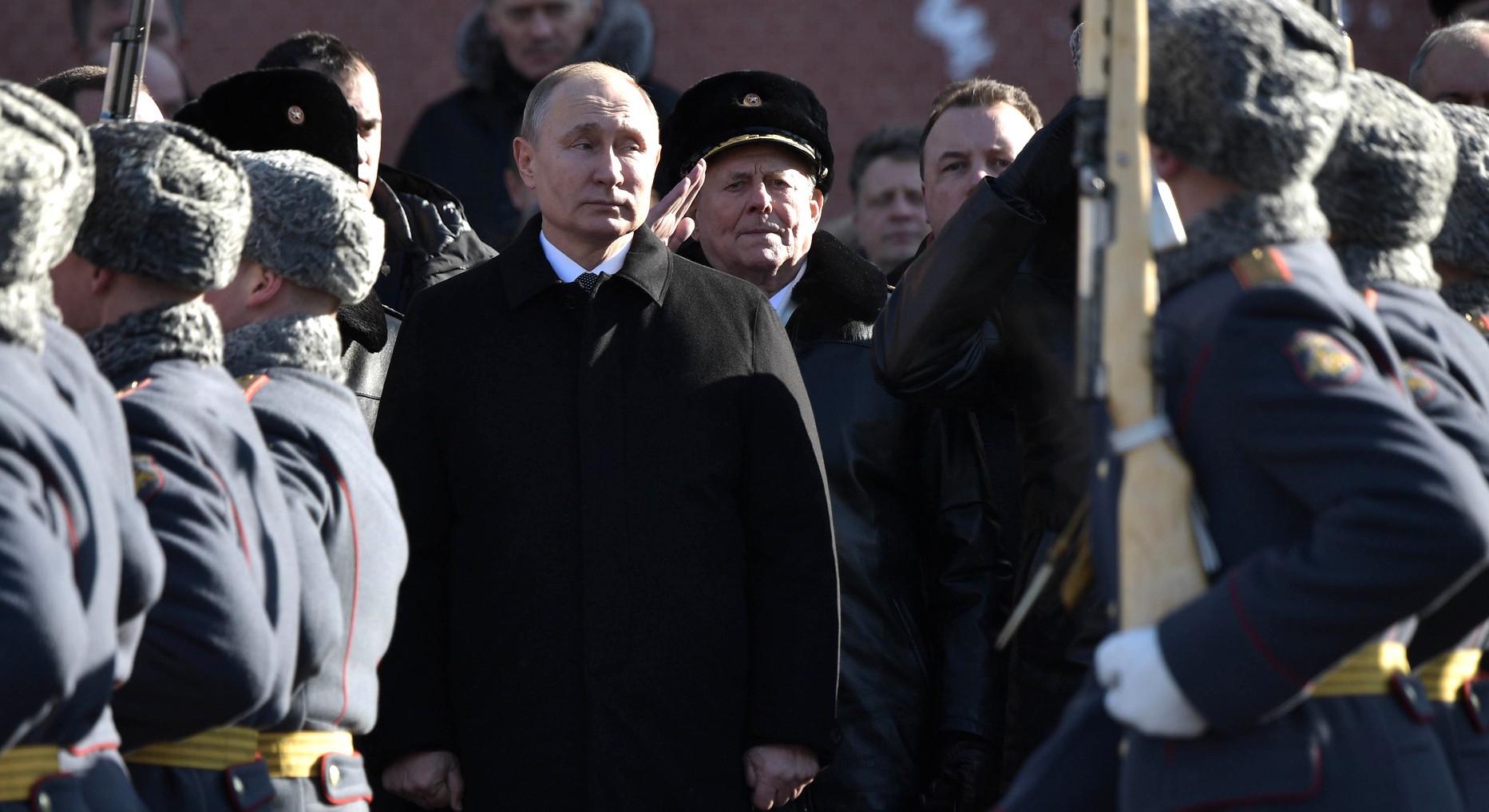 Vladimir Putin at a ceremony in Moscow last week (Photo: Kremlin.ru)