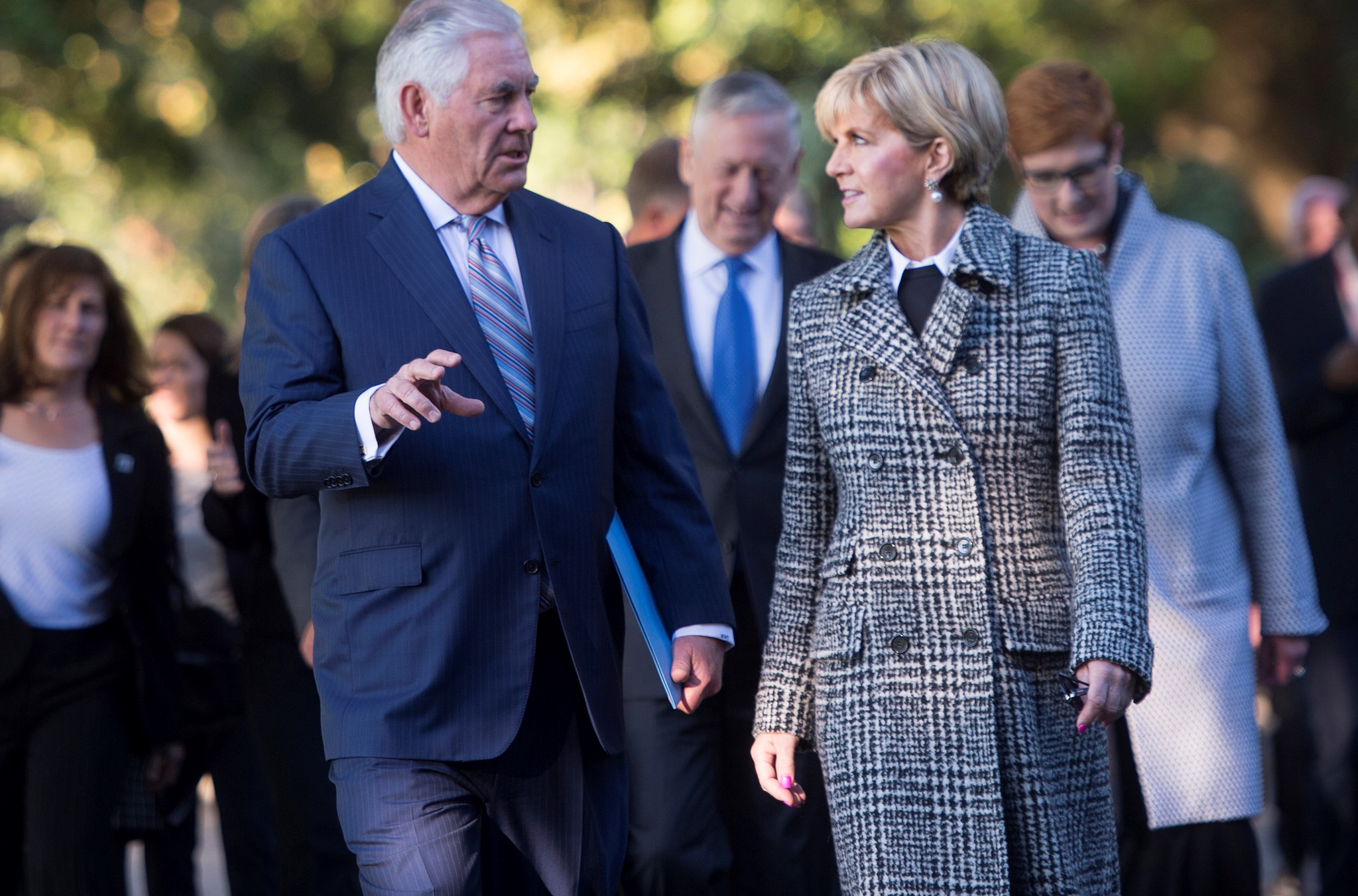 Foreign Minister Julie Bishop with US Secreaty of State Rex Tillerson at AUSMIN, June 2017. (Flickr/Chairman of the Joint Chiefs)
