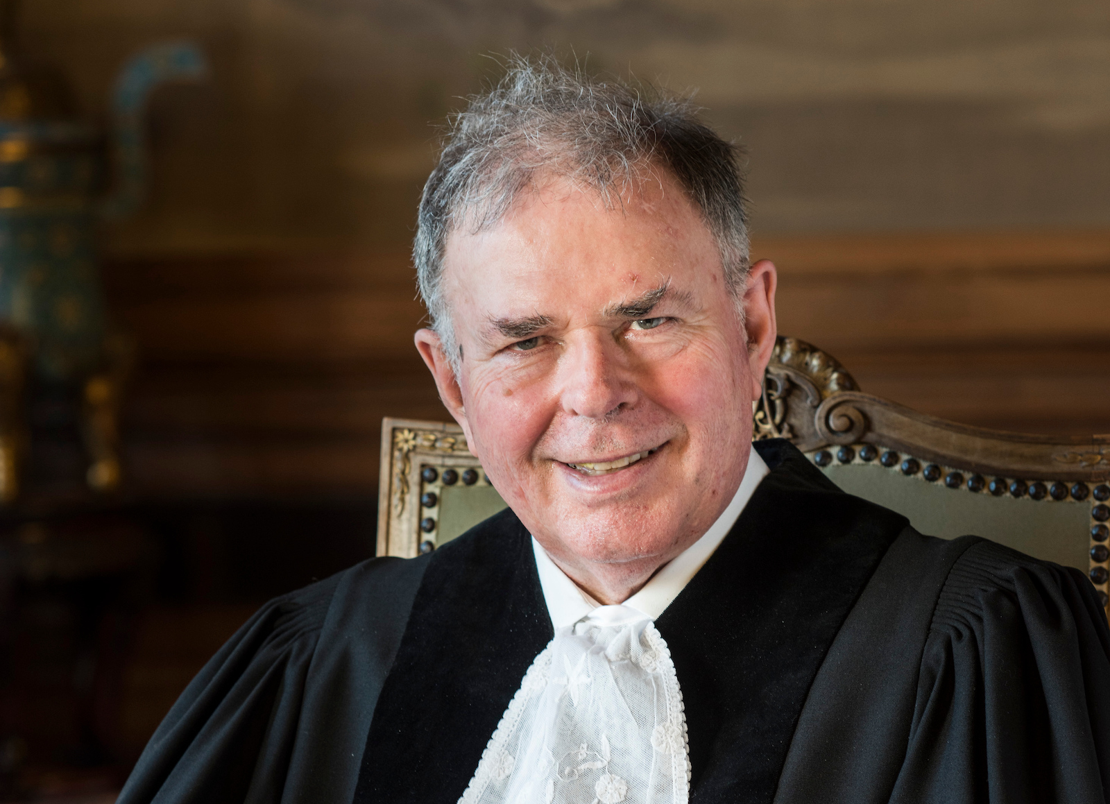 Judge James Richard Crawford, Member of the International Court of Justice from 2015, until his death on Monday (UN Photo/ICJ-PCJ)