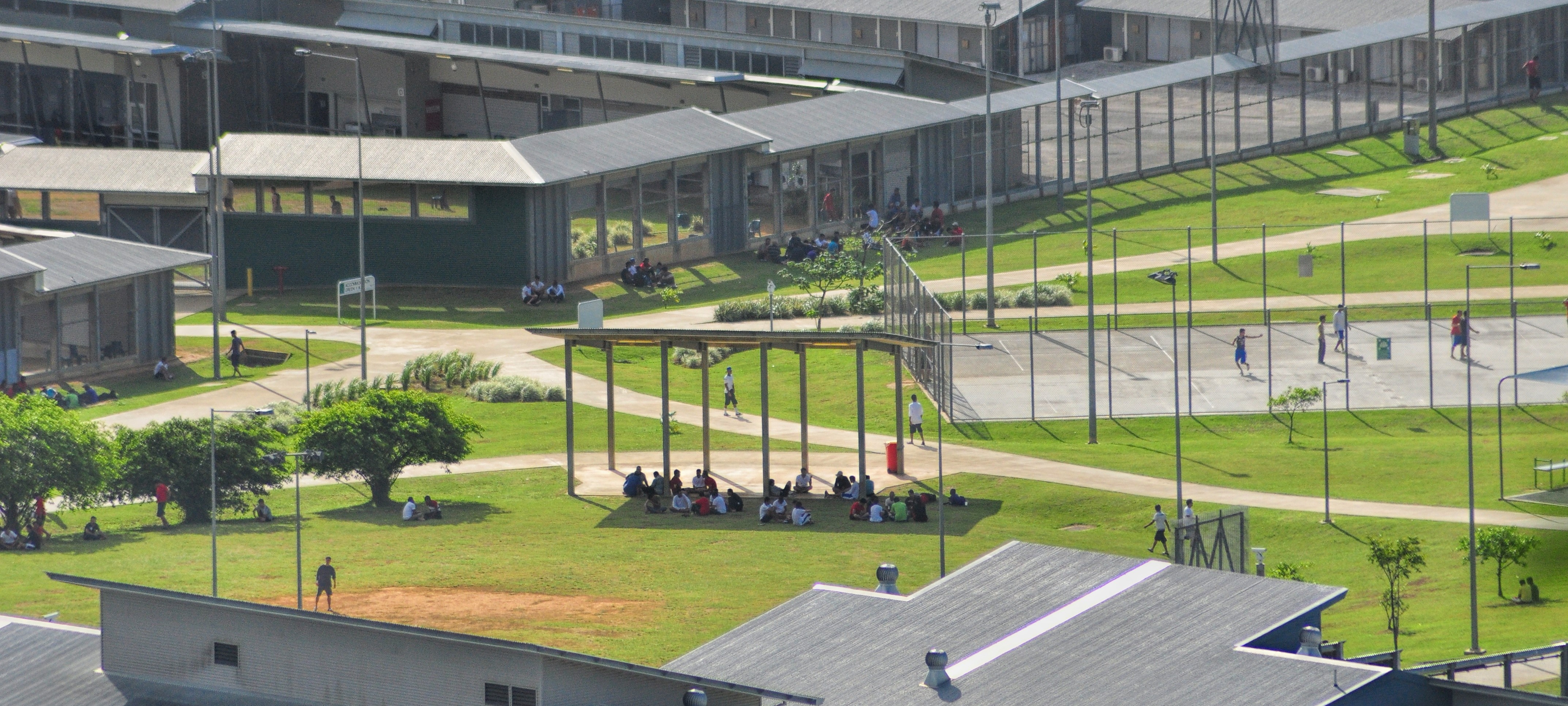 Christmas Island Detention Centre, 2013 (Photo: Getty Images/Scott Fisher)