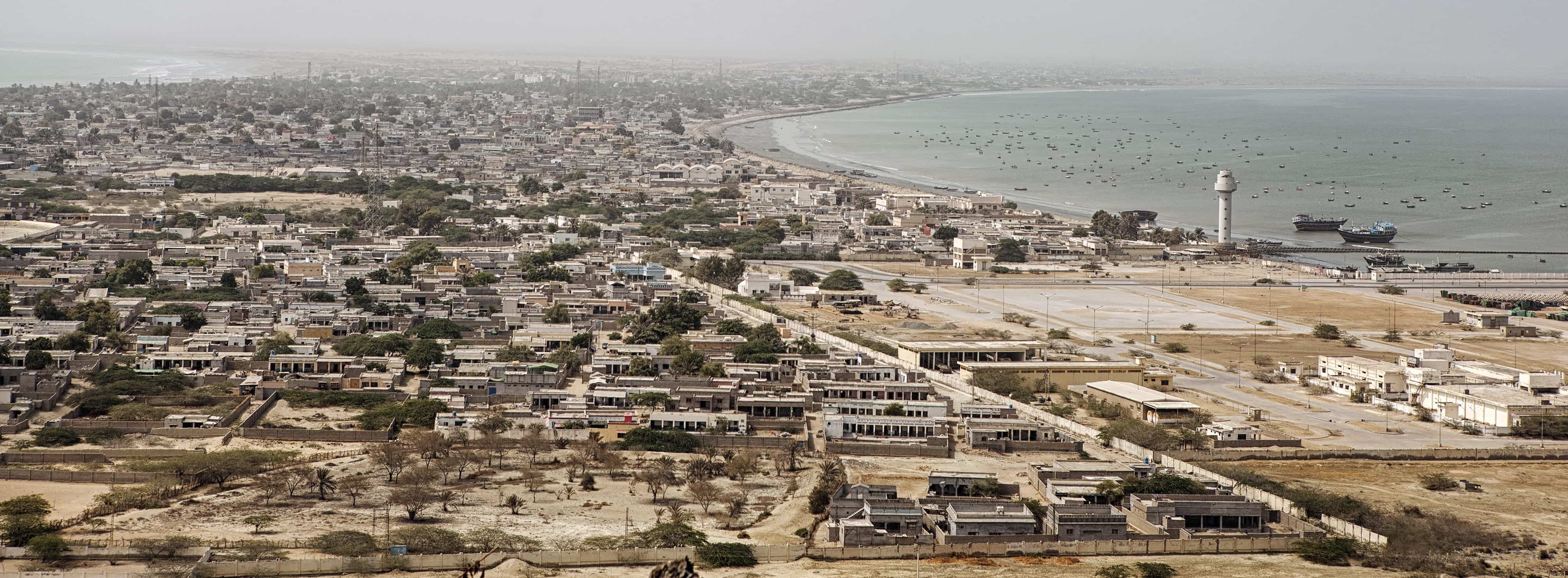 Gwadar, Pakistan, the 'crown jewel' of the China-Pakistan Economic Corridor, 2016 (Photo: Getty Images/Bloomberg/Asim Hafeez)