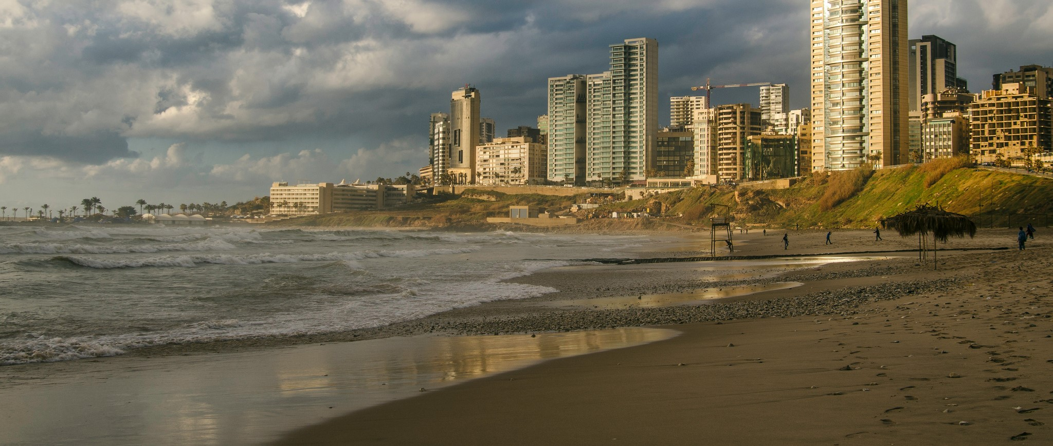 A beach in Beirut, Lebanon, 2016 (Photo: Flickr/Jonhy Blaze)