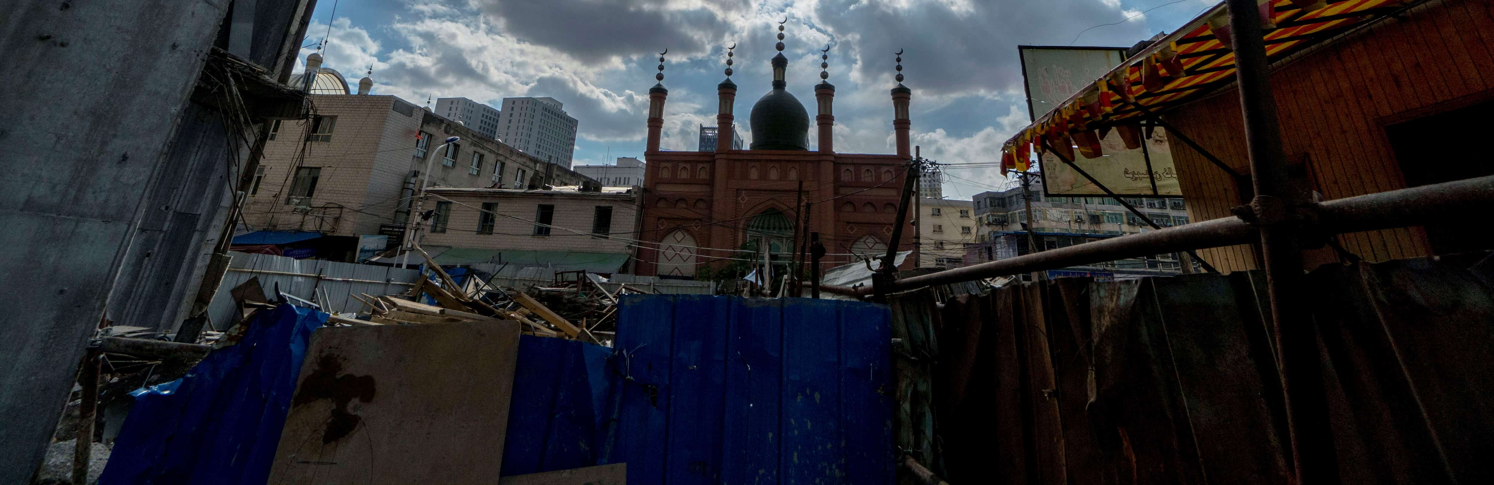 A Mosque in Urumqi, Xinjiang, 2016 (Photo: Getty Images/Zhang Peng)