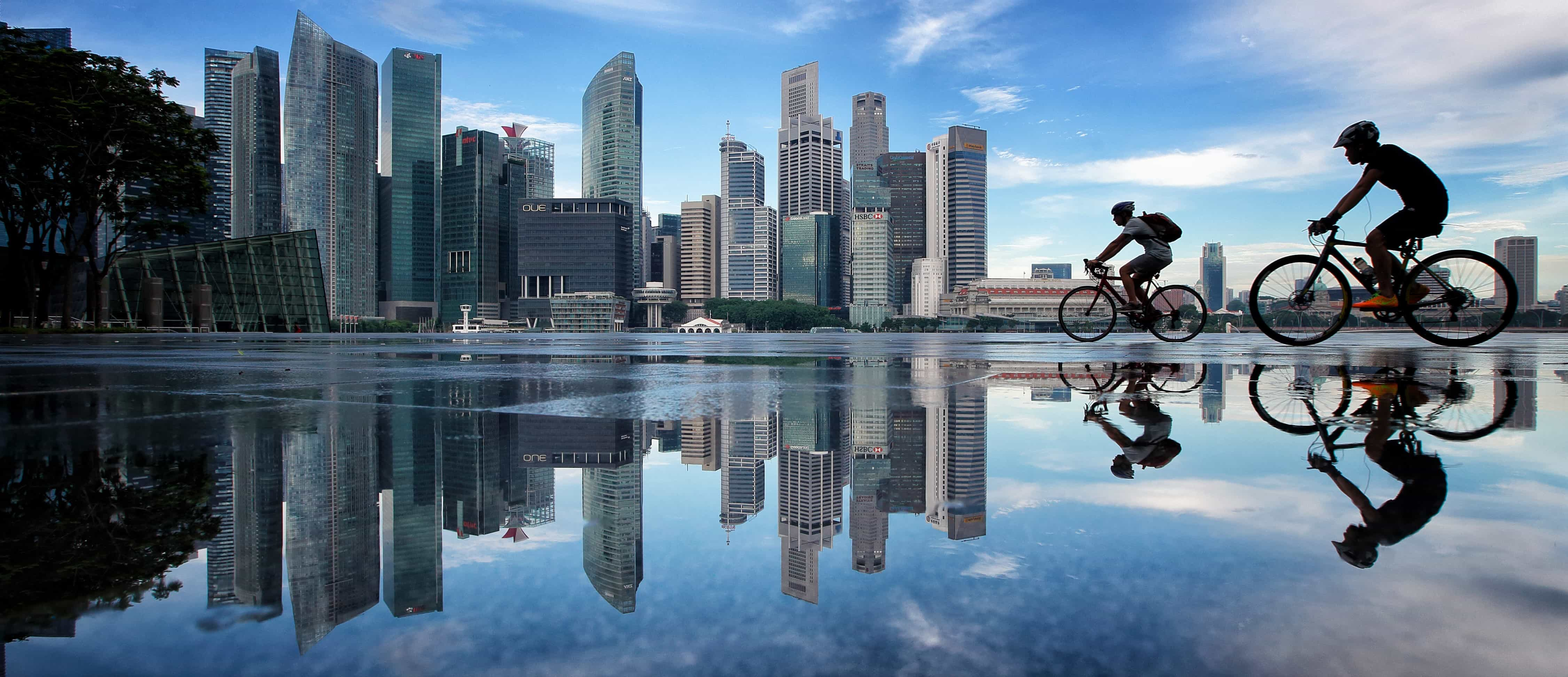 Singapore's Central Business District, November 2016. Photo: Getty images/Suhaimi Abdullah