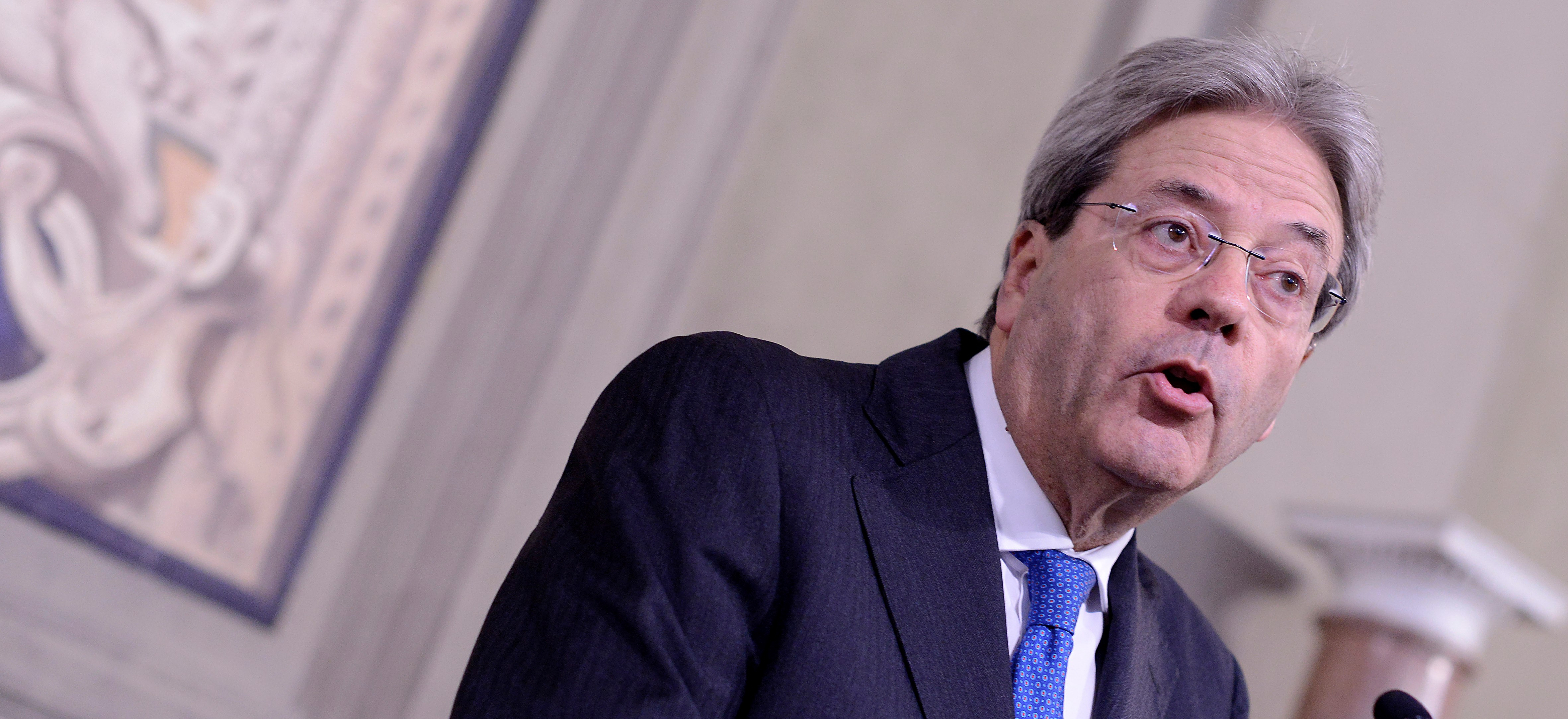 Italian President Sergio Mattarella has instructed Paolo Gentiloni (pictured) to form a new government  (Photo: Getty Images)