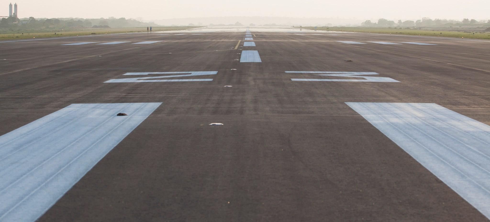 Hambantota International Airport, Sti Lanka. (Flickr/Goya Bauwens)