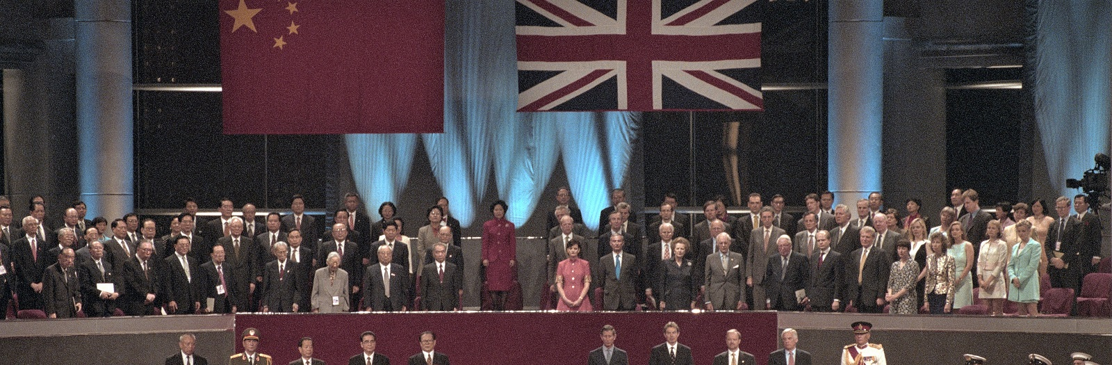 The 1997 Hong Kong Handover Ceremony (Photo: Peter Turnley/Getty Images)