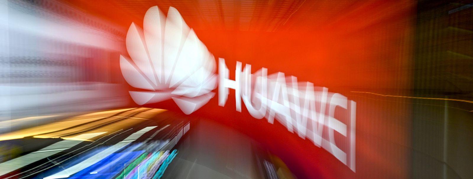 The logo of Chinese telecoms giant Huawei (Photo: Mohd Rasfan via Getty)