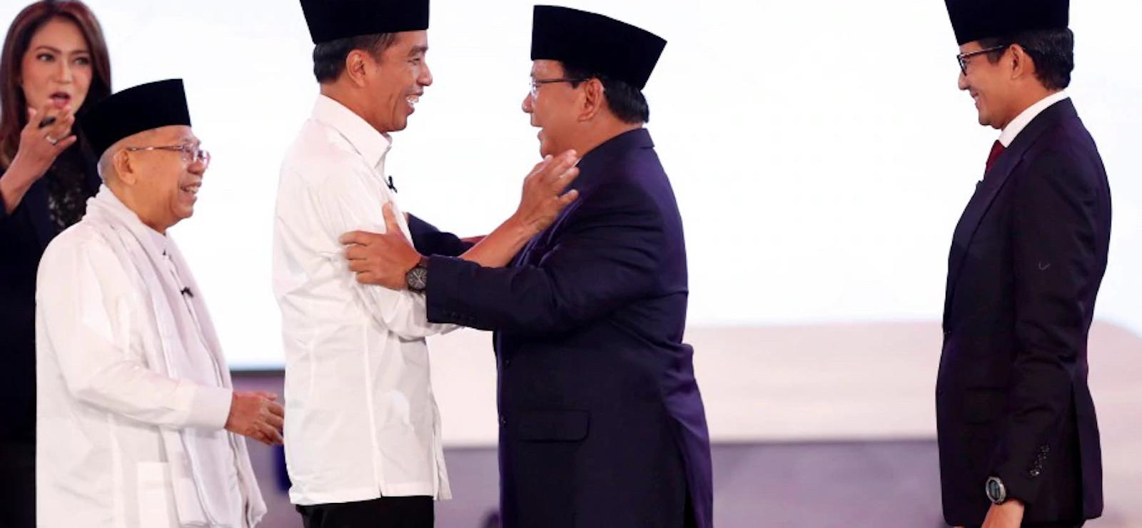 Indonesian President Joko Widodo and Prabowo Subianto (Photo: Gadek/ Flickr)