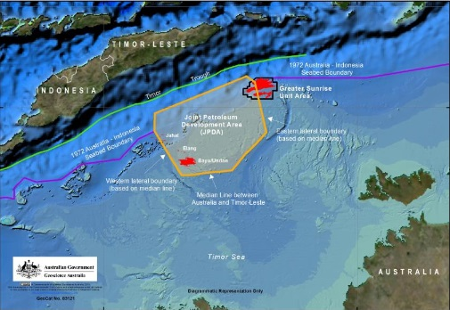 East Timor maritime boundary: The 'equidistance' principle
