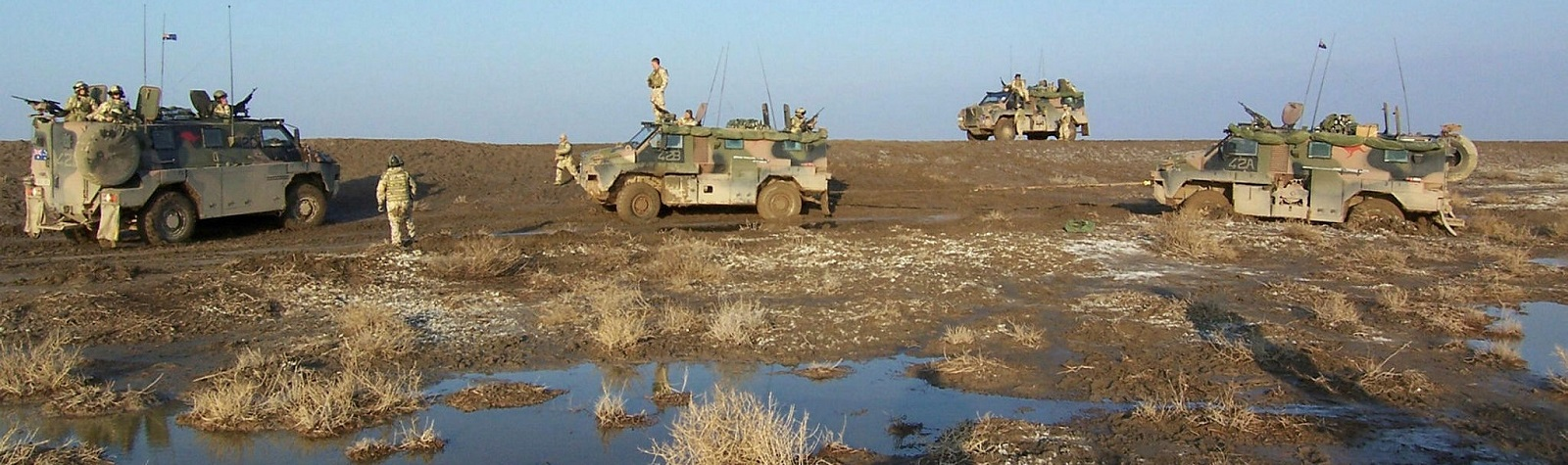 Australian Army personnel in Iraq in 2006 (Photo: Australian Defence Image Library)