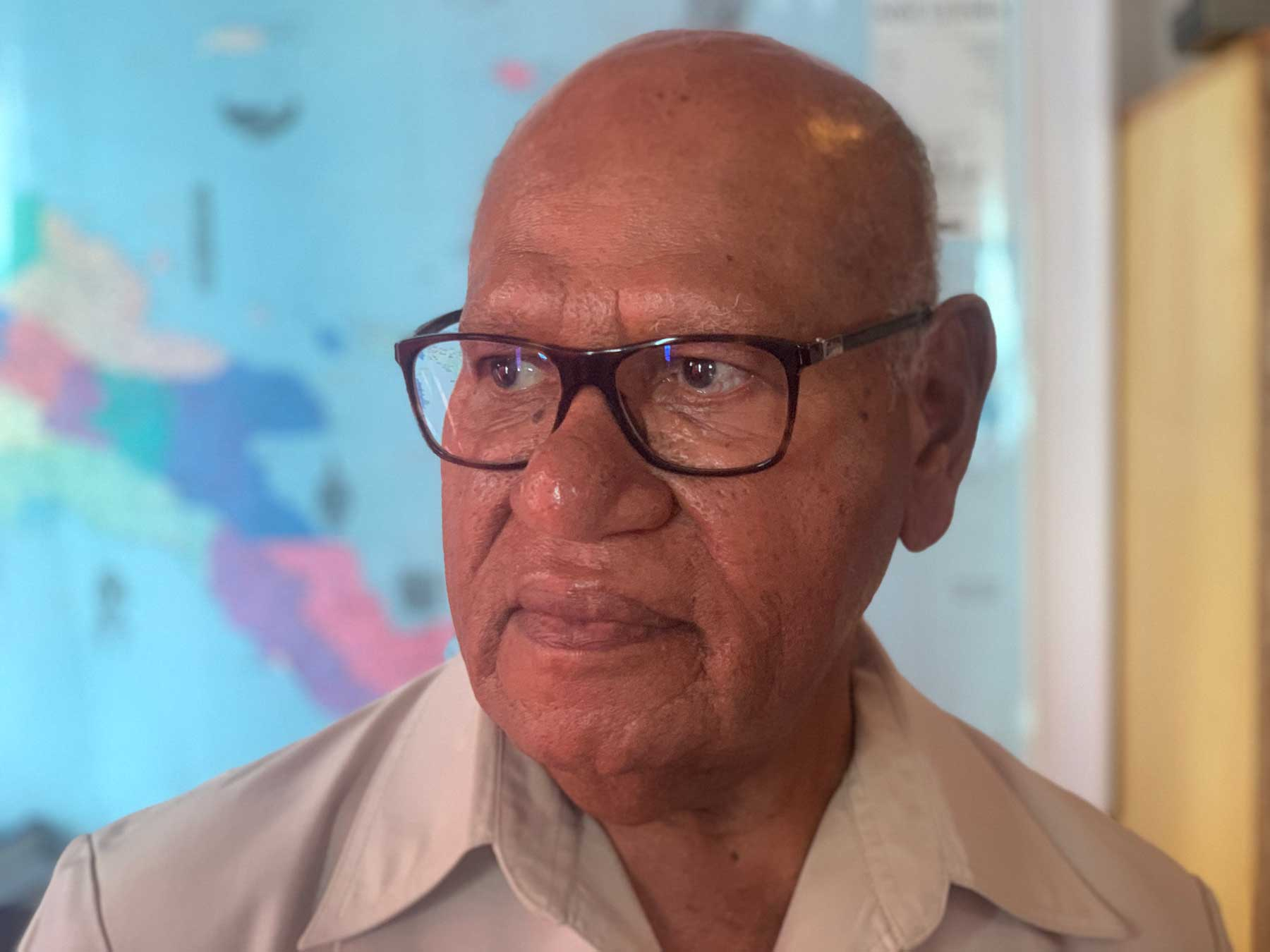 Bougainville President Dr John Momis played a leading role in the peace negotiations between Bougainville and Papua New Guinea that led to the signing of the Bougainville Peace Agreement in 2001