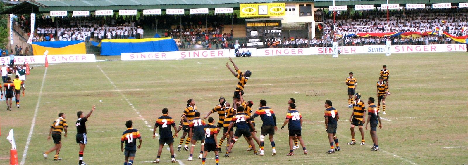 Rugby at Kandy's Bogambara Stadium (Photo courtesy Flikr user Isuru Senevi)
