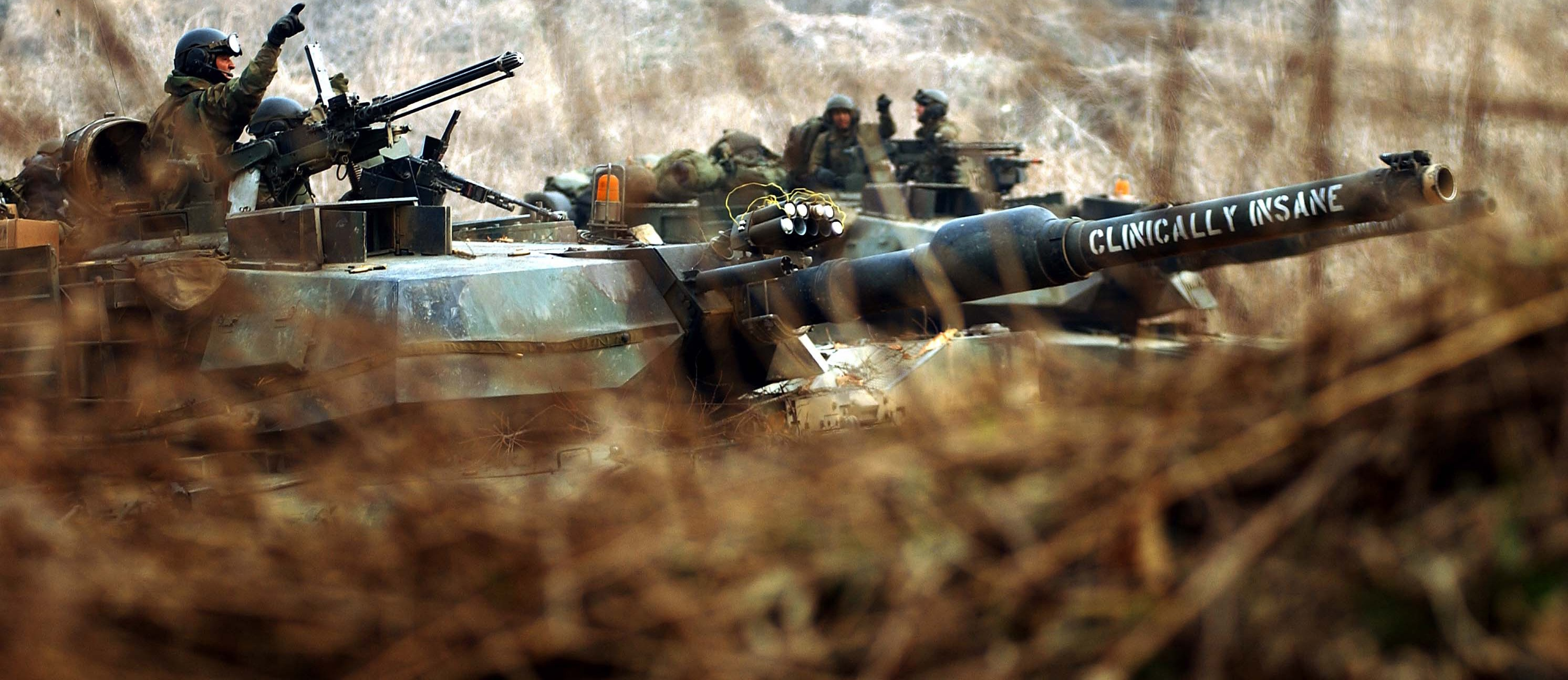 US Army tanks exercising in South Korea. (Flickr/8th US Army)