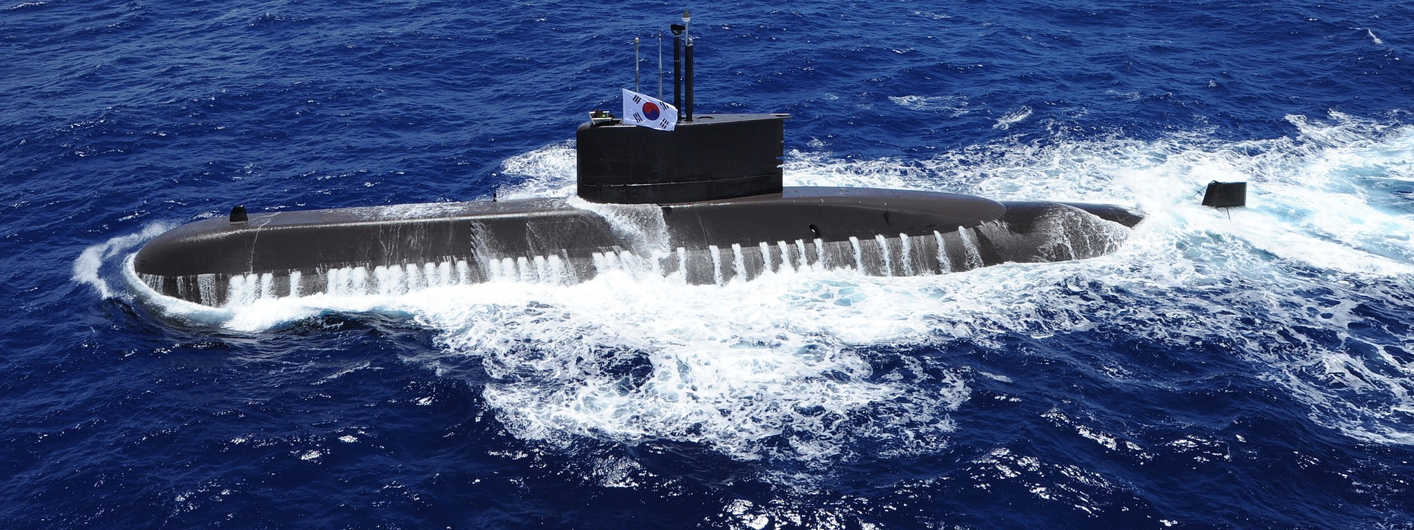 A South Korean Type-214 submarine. (Flickr/US Pacific Fleet)