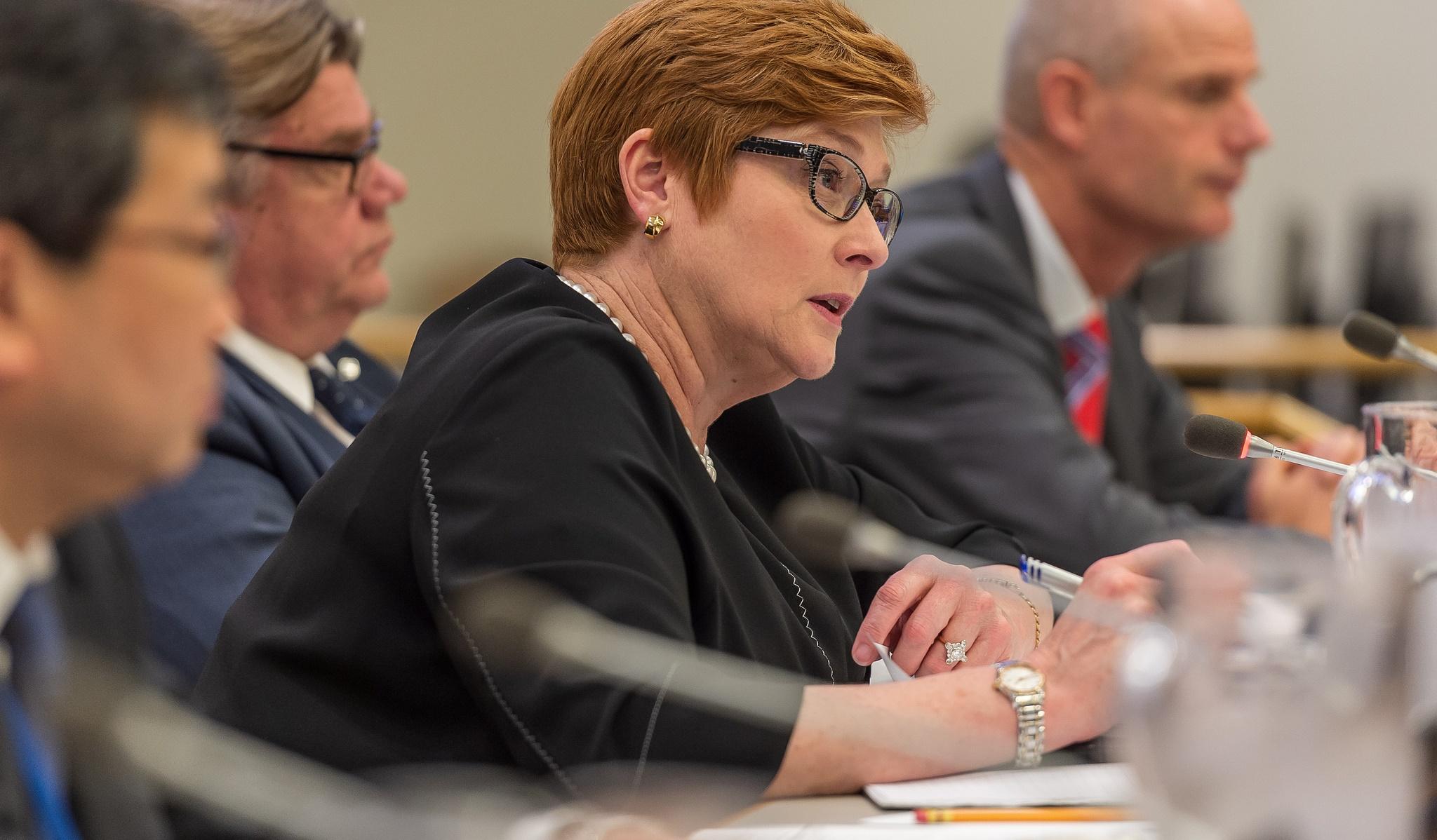 Australian Foreign Minister Marise Payne. (Flickr/CTBTO)