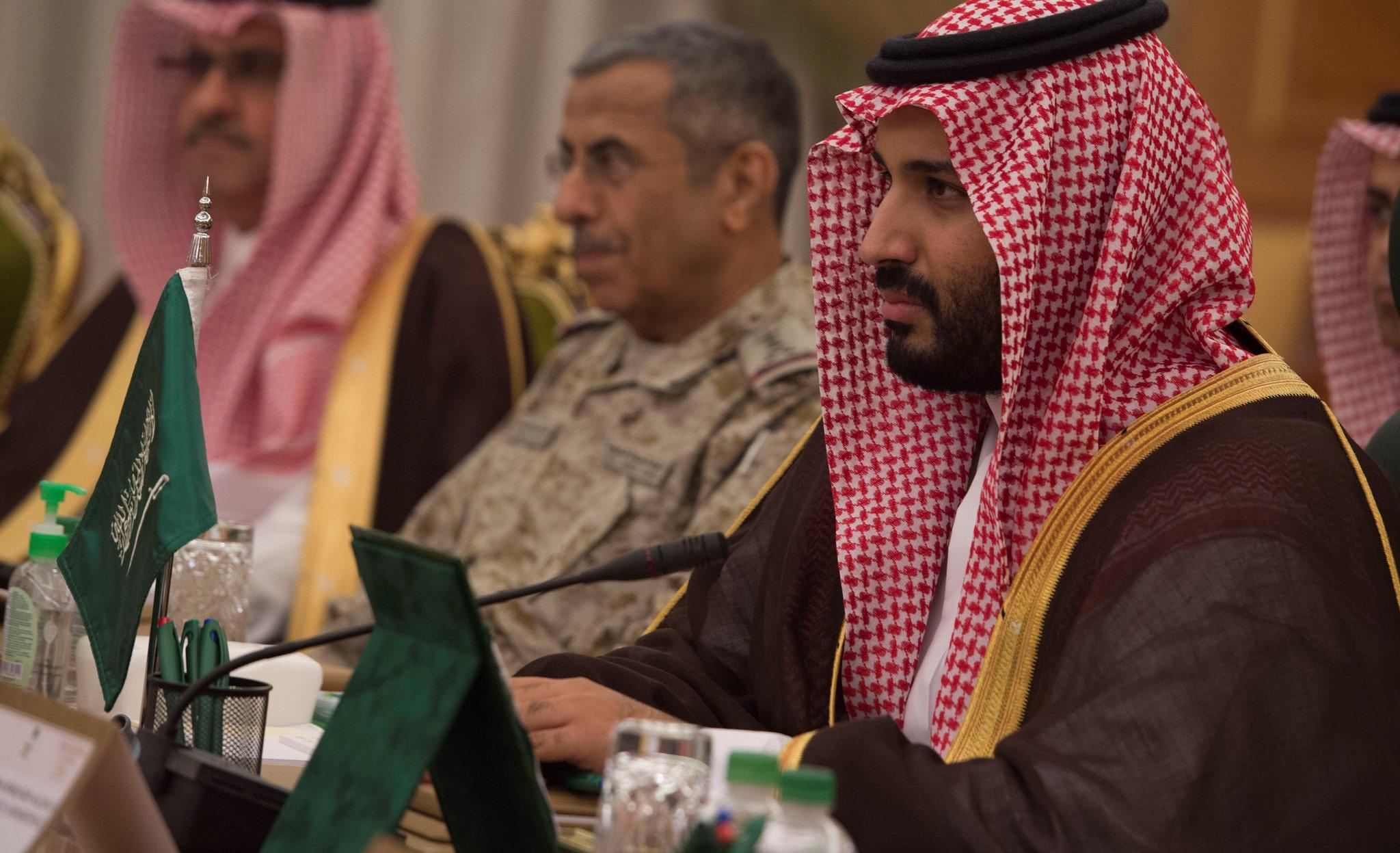 Saudi Crown Prince Mohammed bin Salman. (Flickr/US Secretary of Defense)