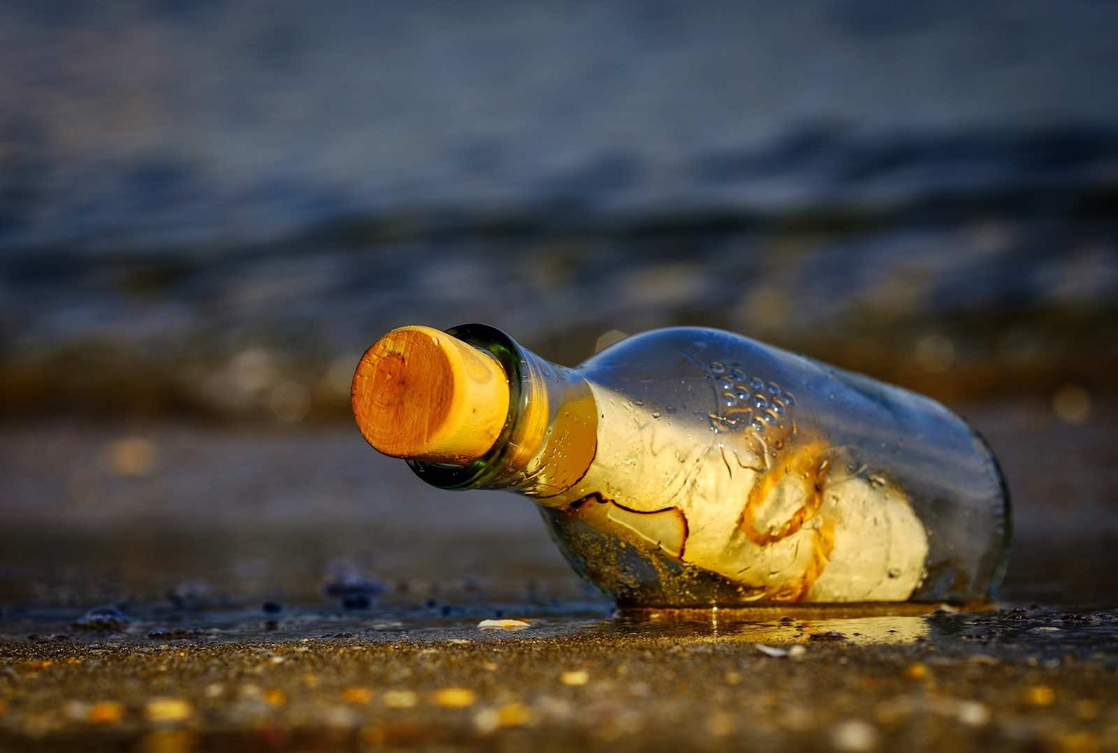 Might as well float a message in a bottle (Antonios Ntoumas/Pixabay)