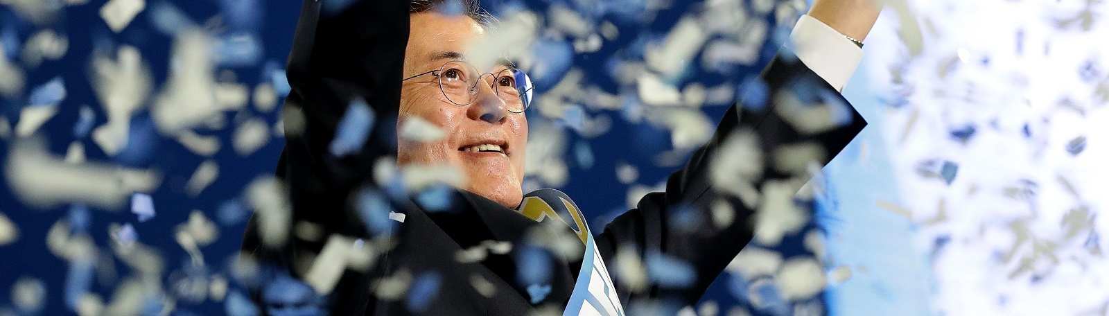 Moon Jae-In, presidential election candidate for the Democratic Party of Korea Photo: Chung Sung-Jun/Getty Images