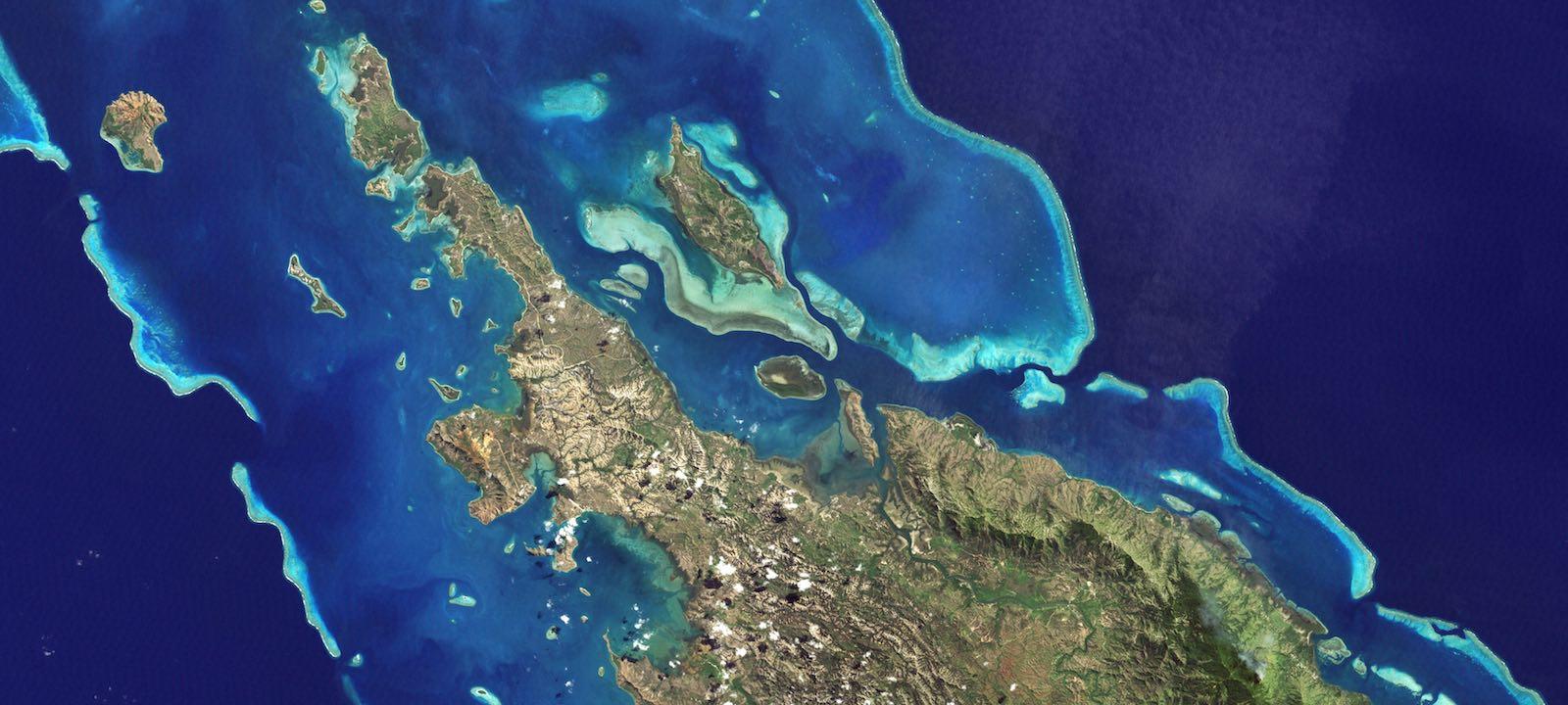 New Caledonia (Photo: NASA Visible Earth)
