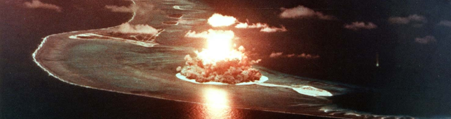 US nuclear weapons test at Eniwetok in 1956 (Photo: Flickr/US Govt)