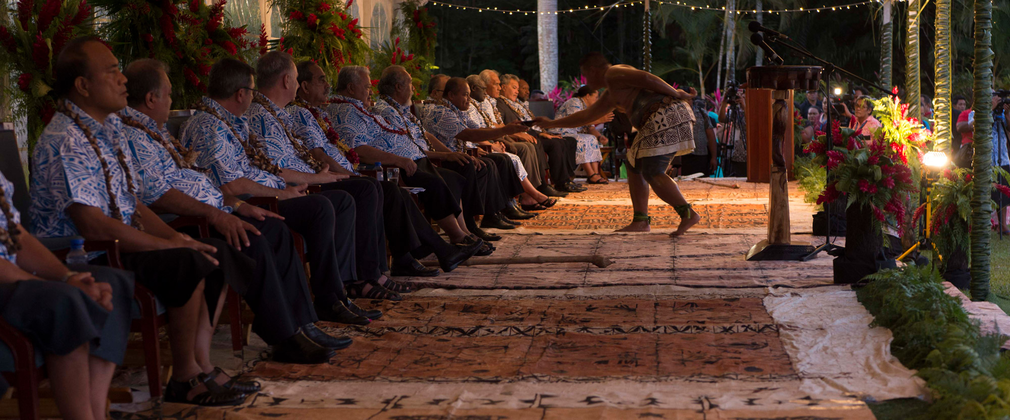 2017 Pacific Islands Forum Opening Ceremony. Photo: Flickr user US Embassy New Zealand