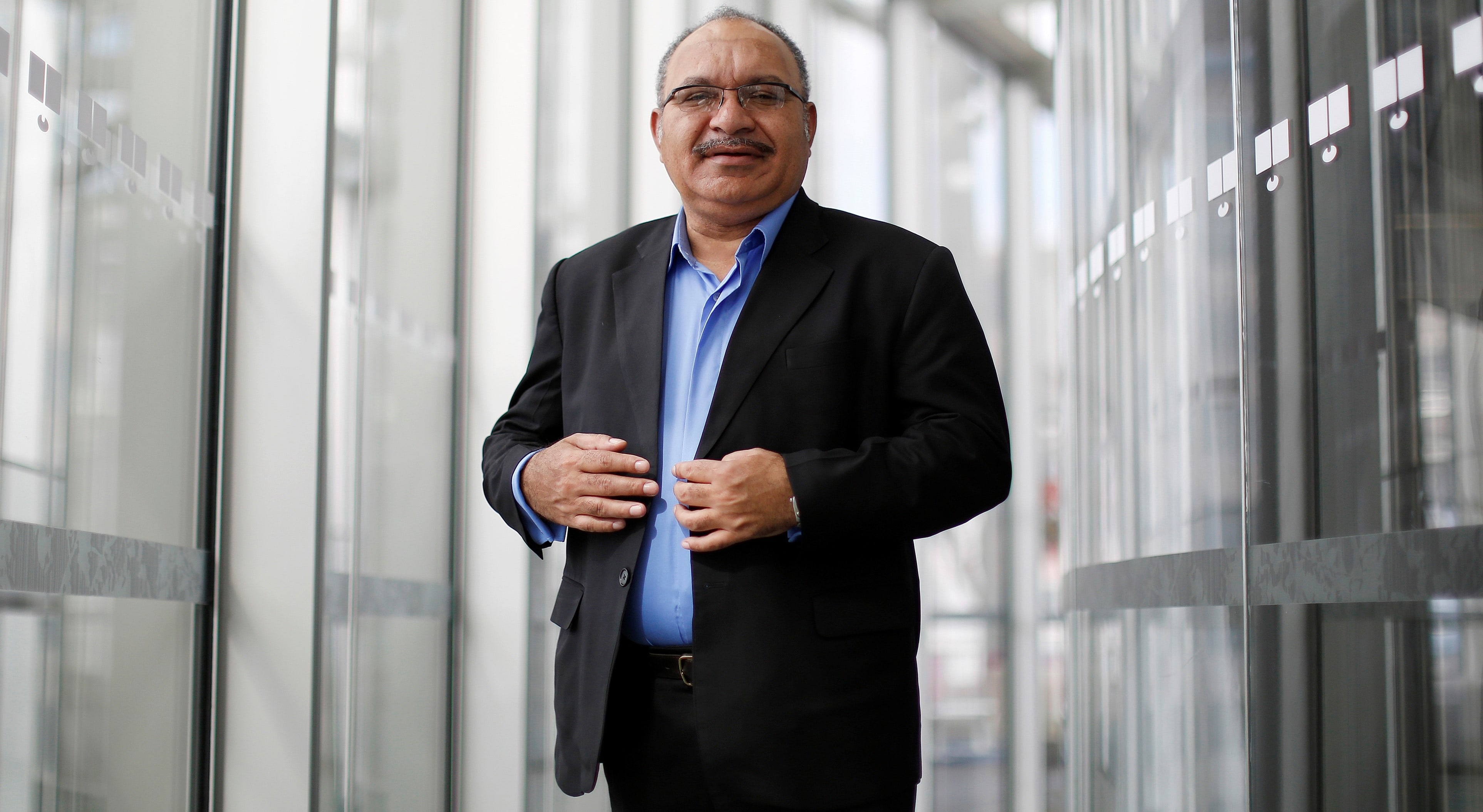 PNG Prime Minister Peter O'Neill (Photo: Getty Images/Bloomberg)