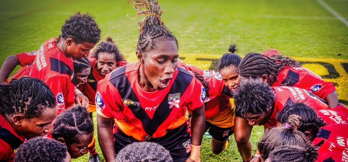 Power Meri: The film is already prompting discussion about the potential of women's rugby league to change PNG society (Photos: supplied)