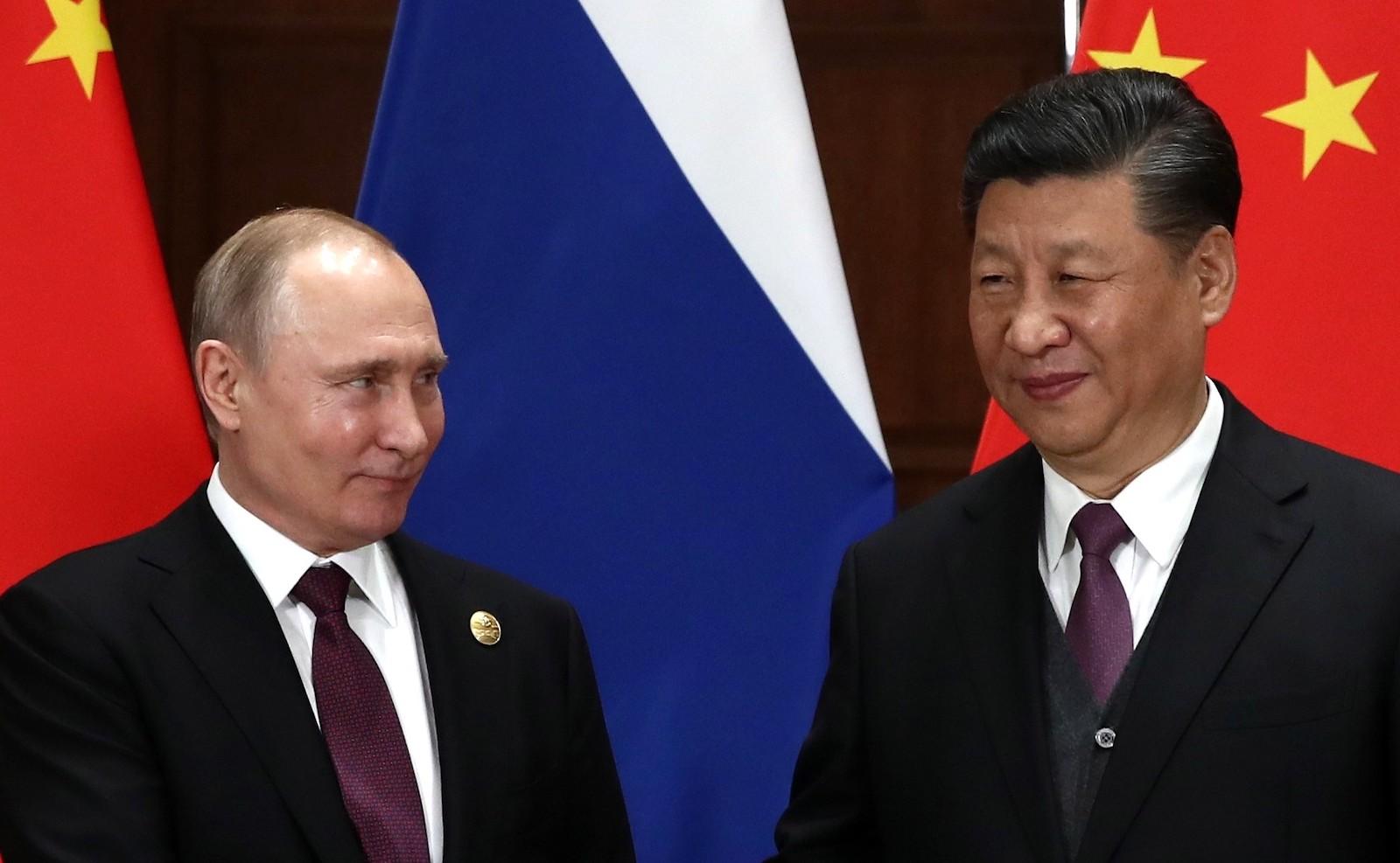 Close friends: Russia's Vladimir Putin and China's Xi Jinping (Photo: TASS via Kremlin.ru)