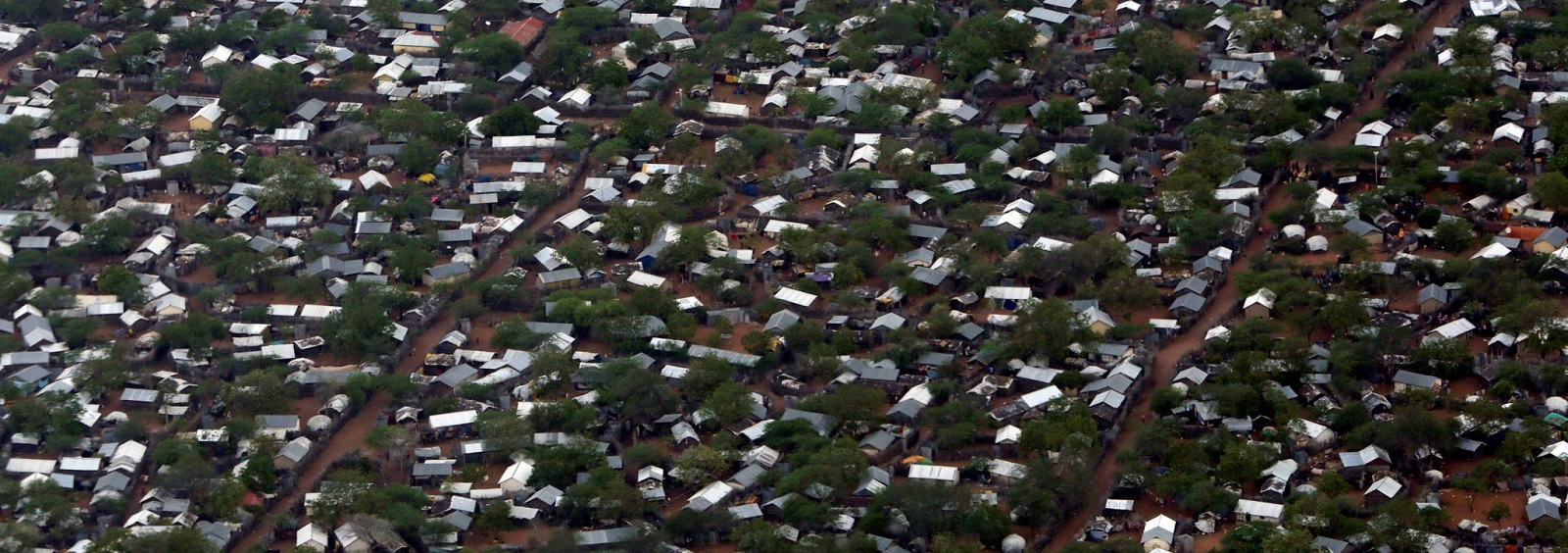 Aerial Views of Ifo 2 Refugee Camp in Dadaab, Kenya (Photo: Flickr/United Nations)