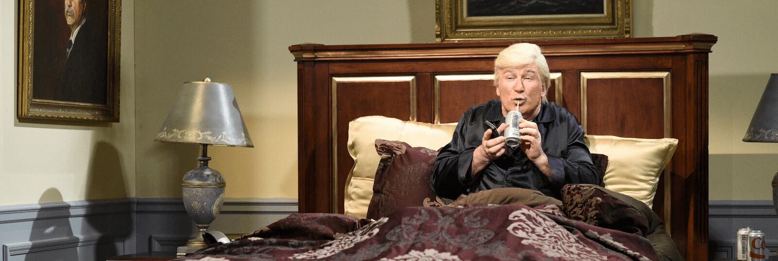 Alec Baldwin as President Donald Trump on Saturday Night Live (Photo: Will Heath/Getty)