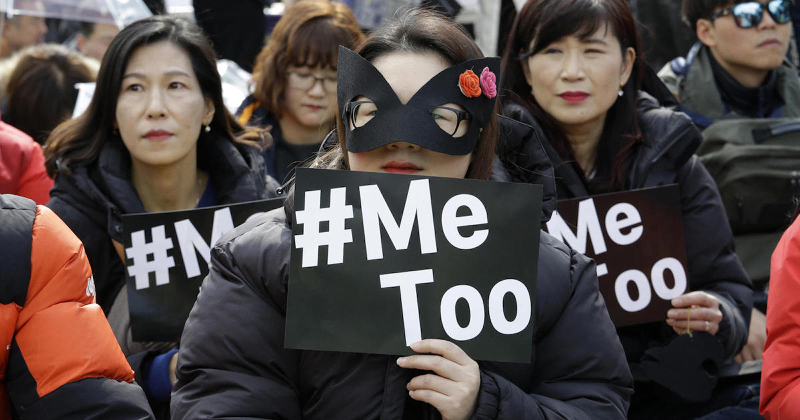 Women in South Korea have regularly united to rally against gendered violence and injustice (Photo: Parsha Sass/ Flickr)
