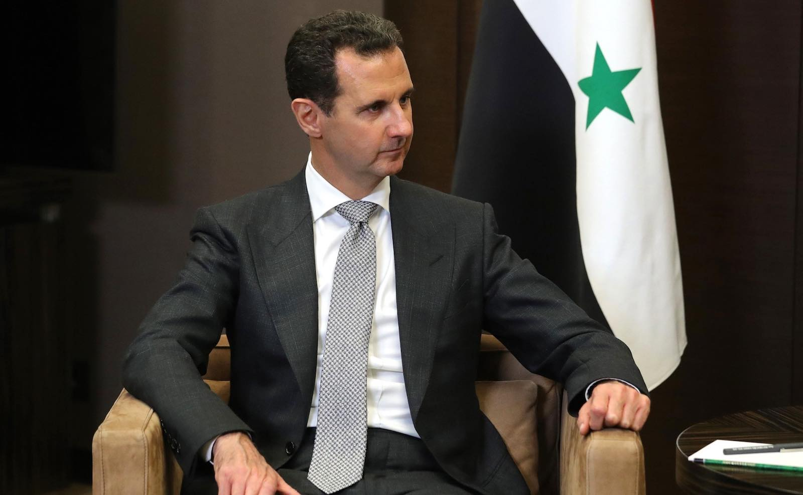 Bashar al-Assad, like his father before him, proved determined to not ask open-ended questions in Syria about the relationship between state and society (Photo: Kremlin.ru)