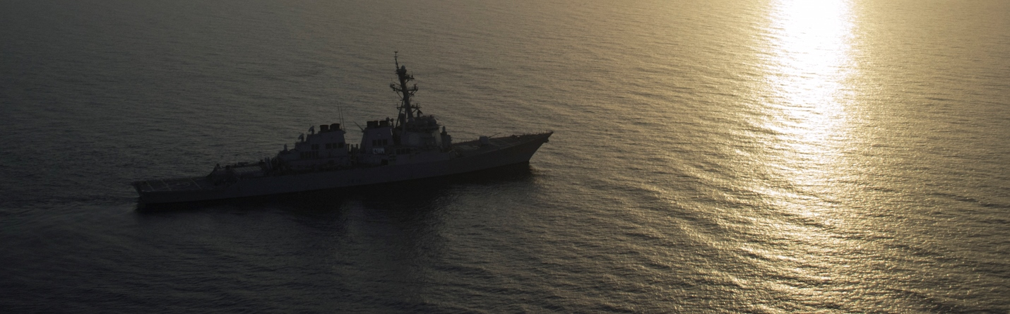 USS Benfold, one of the two destroyers which sailed through the Taiwan Strait last weekend (Flickr/US Navy)