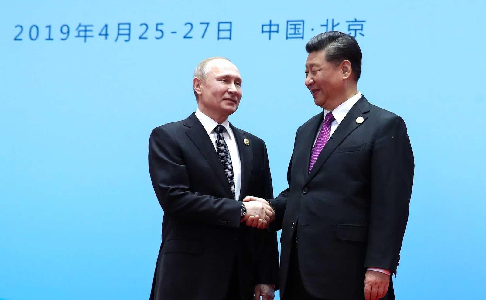 Russia's Vladimir Putin and China's Xi Jinping (Kremlin.ru)